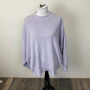 Free People Sweaters - Free People Purple Easy Street Tunic